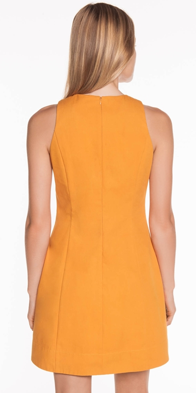 Dresses | Asymmetric Neckline Fitted Dress