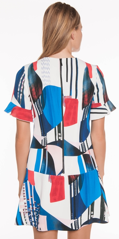 Dresses | Kandinsky Print Dress