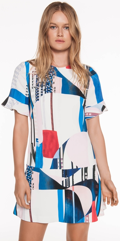 The Party Edit | Kandinsky Print Dress
