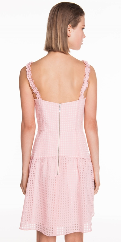 Dresses | Sheer Check Organza Dress
