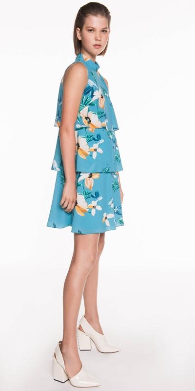 Dresses | Daisy Palm Tiered Dress