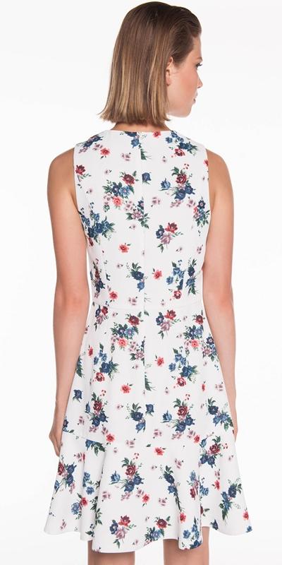 Dresses | Bouquet Crepe Frill Dress