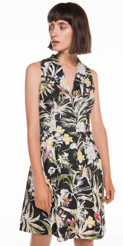 Made in Australia  | Island Floral Linen Dress