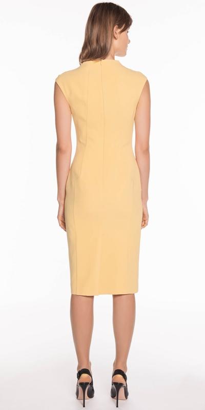 Dresses | Gathered Waist Pencil Dress