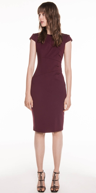 Dresses | Fanned Waist Tuck Pencil Dress