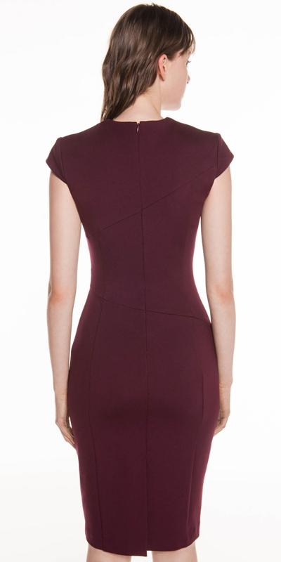 Dresses | Fanned Waist Tuck Pencil Dress
