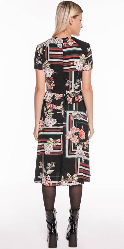 Dresses | Floral Scarf Midi Dress