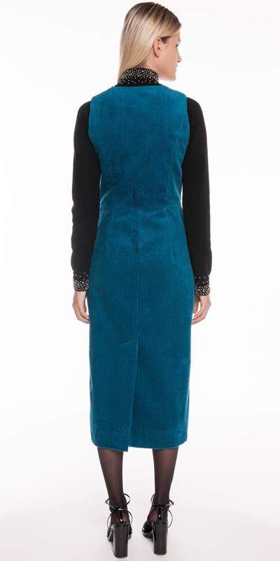 Dresses | Corduroy Midi Dress