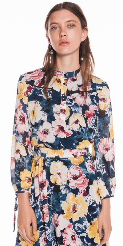 Dresses | Watercolour Blossom Midi Dress
