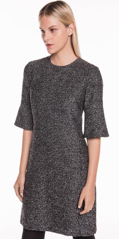 Dresses | Lurex Tweed A-line Dress