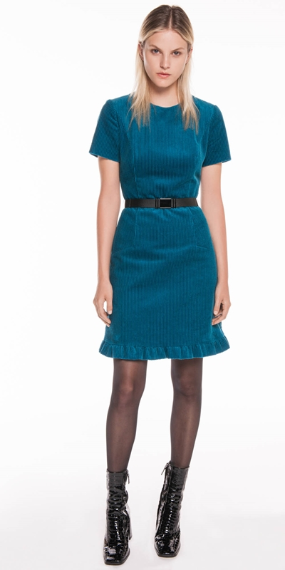 Made in Australia | Corduroy Belted Dress