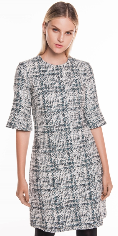 Sale  | Boucle A-Line Dress