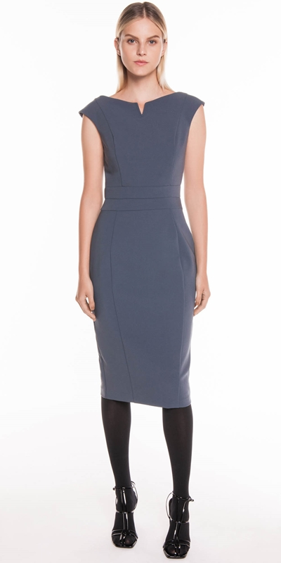 Dresses | V-Neck Pencil Dress