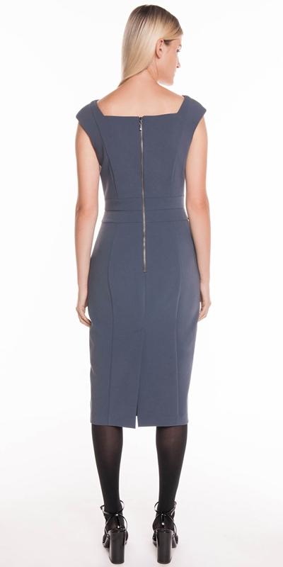 Dresses | V-Neck Pencil Dress