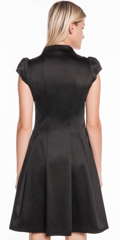 Dresses | Cap Sleeve Zip Front Dress