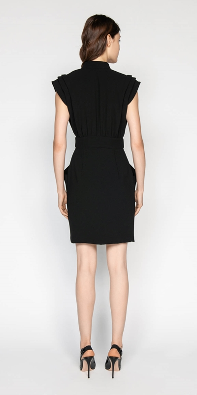 Dresses | Crepe Wrap Dress