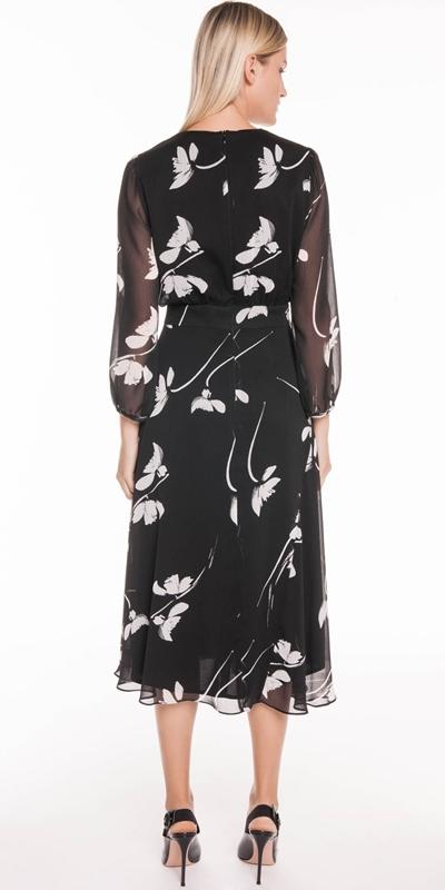 Dresses | Monochrome Poppy Midi Dress