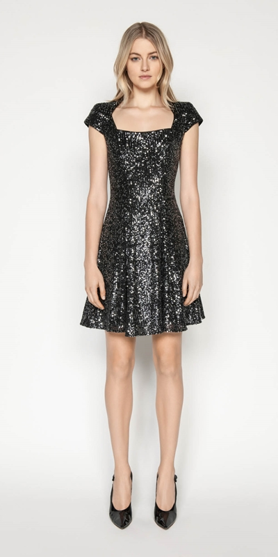 Made in Australia | Iridescent Sequin Dress