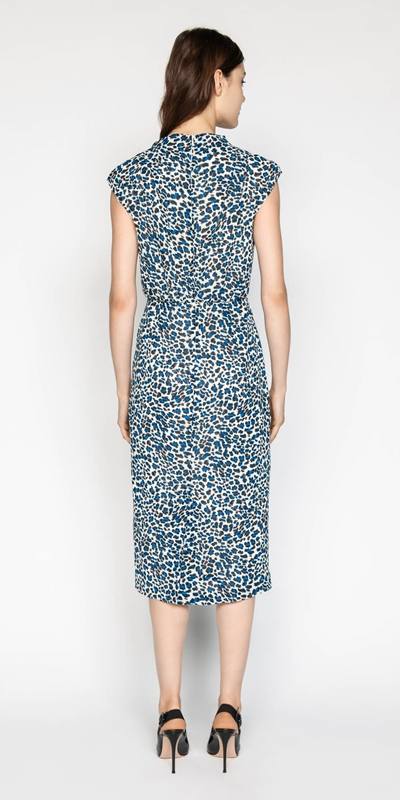 Dresses | Abstract Animal Pencil Dress