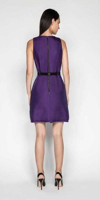 Dresses | Belted A-Line Dress