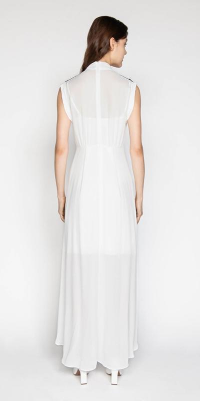 Dresses | Ivory Georgette Dress
