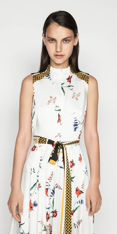 Made in Australia  | Scarf Print Midi Dress