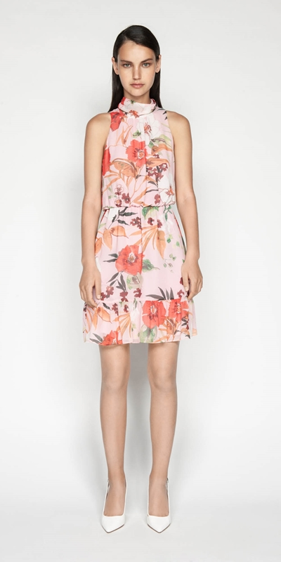 Sale | Painted Poppy Dress