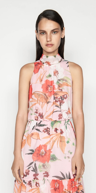 Outlet  | Painted Poppy Dress