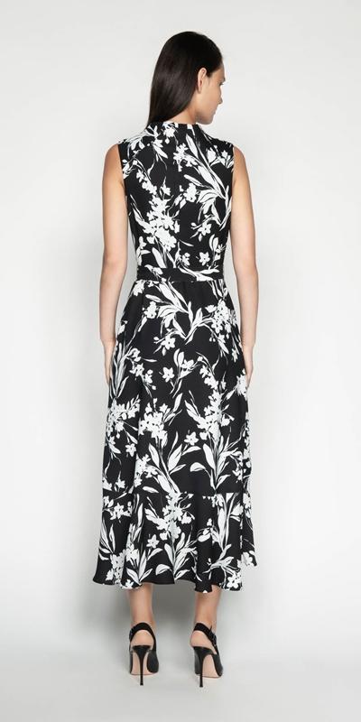 Dresses | Silhouette Longline Frill Dress
