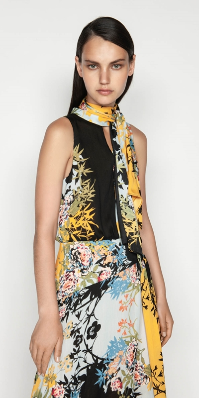 Made in Australia  | Bamboo Floral Georgette Dress