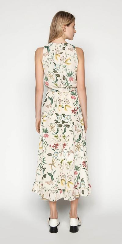 Dresses | Illustrated Botanic Midi Dress