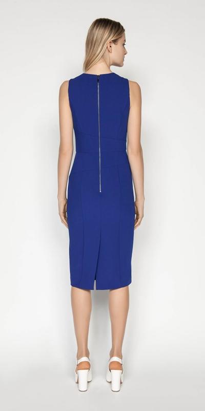 Dresses | Asymmetric Keyhole Pencil Dress