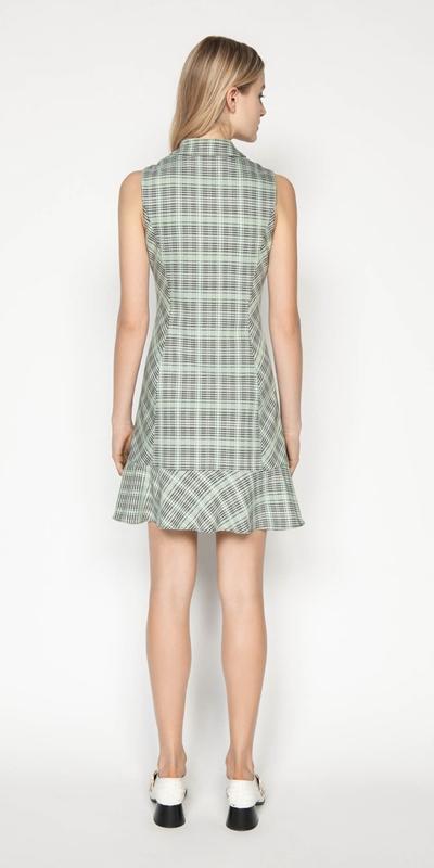 Dresses | Check Button Front Dress