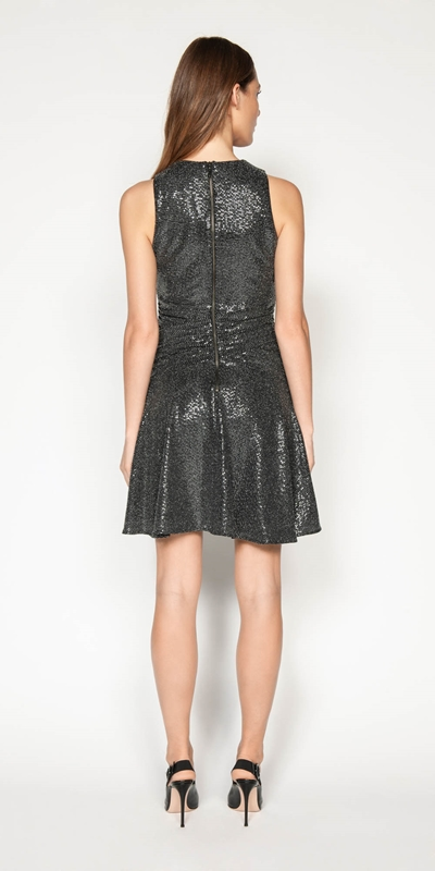 Dresses | Lurex Sequin Knit Dress