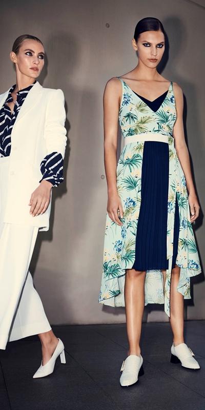 Dresses | Tropical Georgette Dress