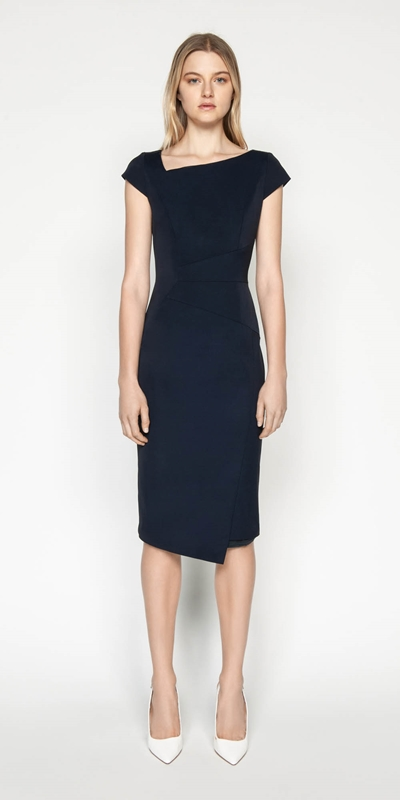 Dresses | Asymmetric Pencil Dress
