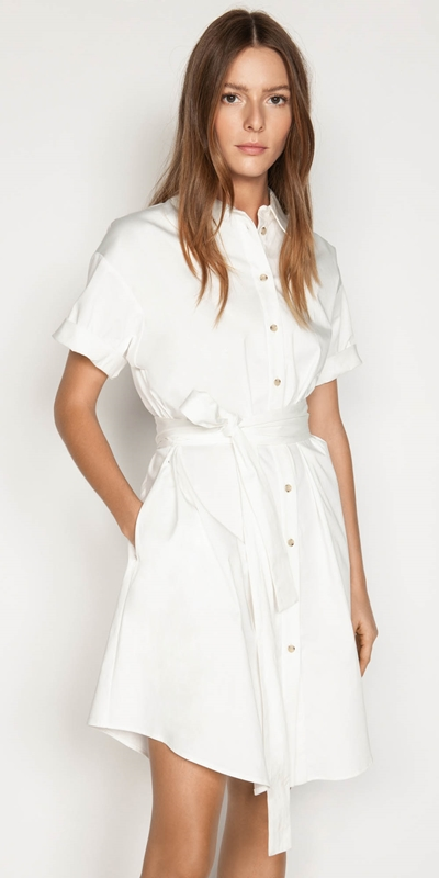 Made in Australia  | Belted Shirt Dress