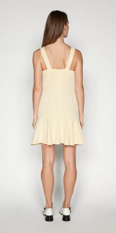 Dresses | Crepe Trapeze Dress