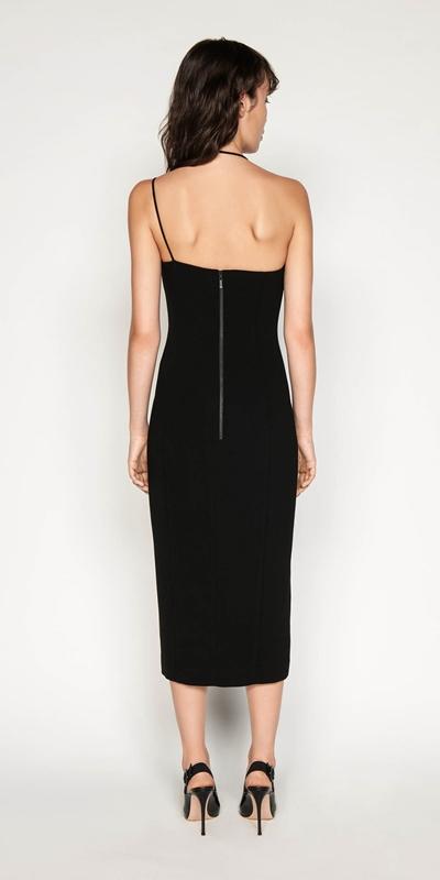 Dresses | Asymmetric Strappy Pencil Dress