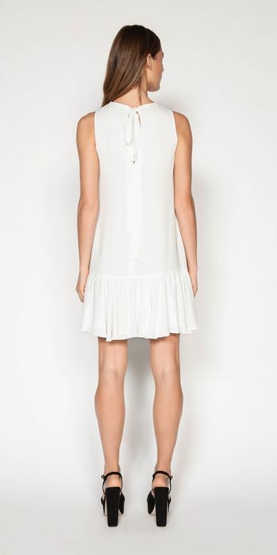 Dresses | Frilled Hem Mini Dress