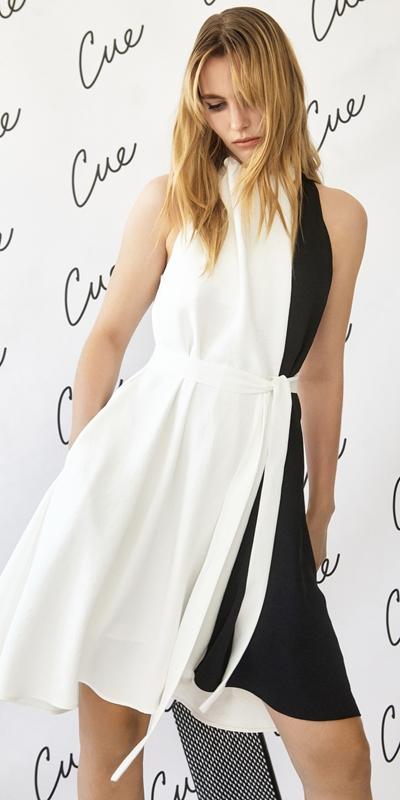 Dresses | Monochrome Layered Dress