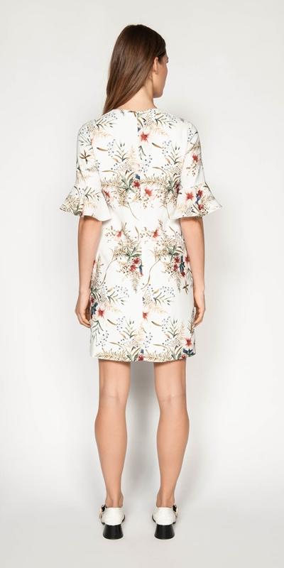 Dresses | Illustrated Floral Shift Dress
