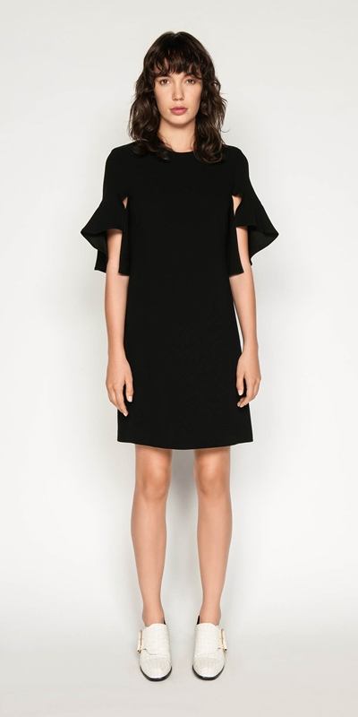 Dresses | Crepe Split Sleeve Dress