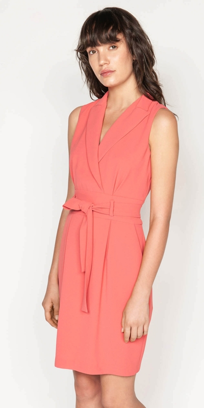 Made in Australia  | Crepe Wrap Front Dress