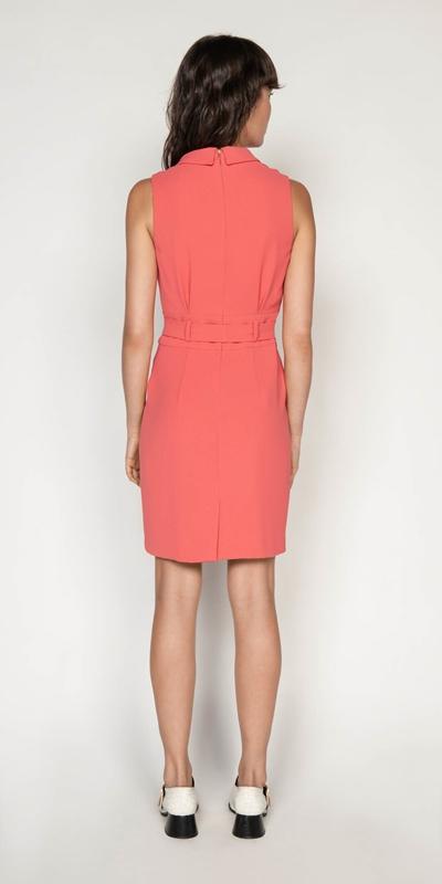 Dresses | Crepe Wrap Front Dress