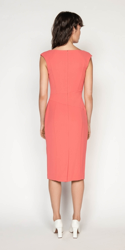 Dresses | Crepe Keyhole Pencil Dress