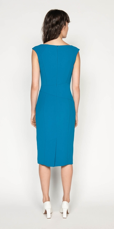 Dresses | Crepe Keyhole Pencil Dress