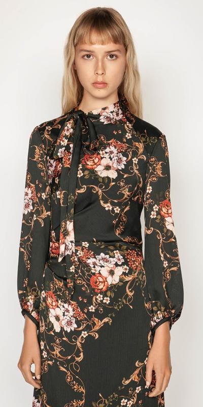 Dresses | Filigree Rose Midi Dress