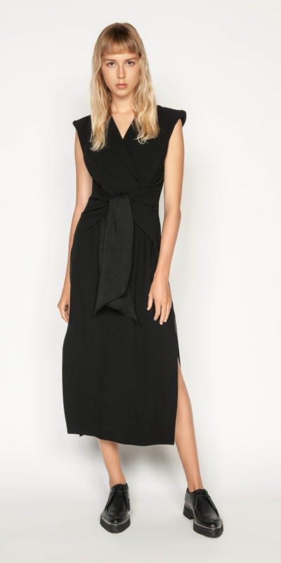 Wear to Work | Crepe Tuxedo Dress