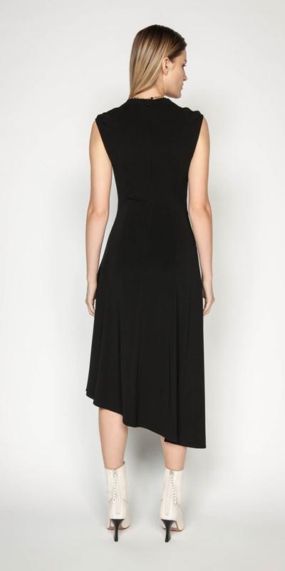 Dresses | Jersey Draped Waist Dress
